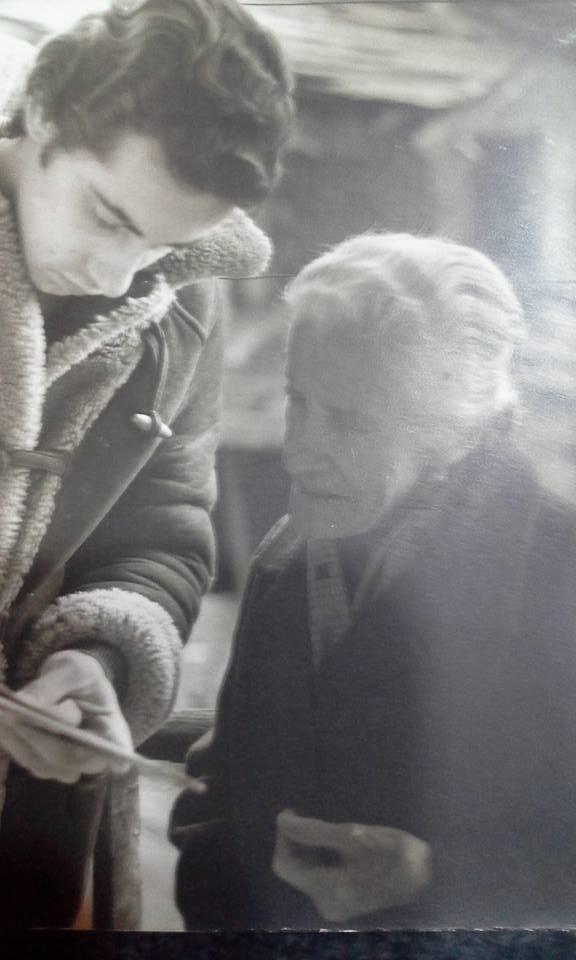 hermana de Domenica en Italia 1975 y yo