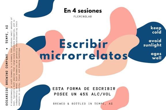 ¿Cómo escribir narrativa microrrelatos_ Taller 8 sesiones-2